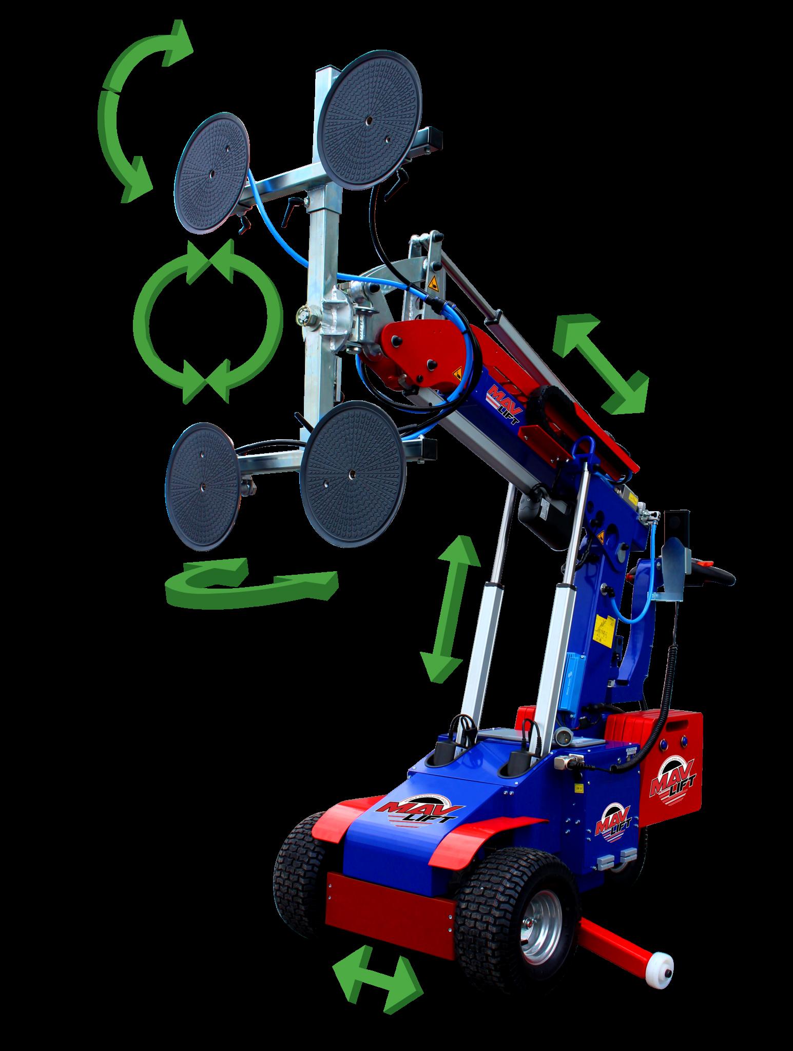 MAV Lift diagram