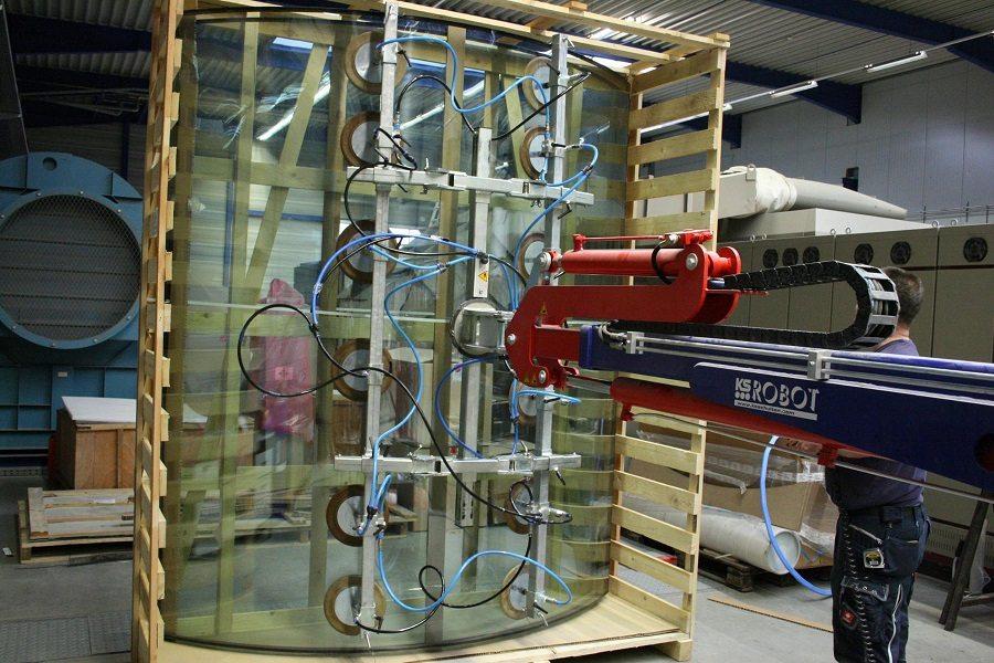 Curved Glass MAV Lift Glazing Tools